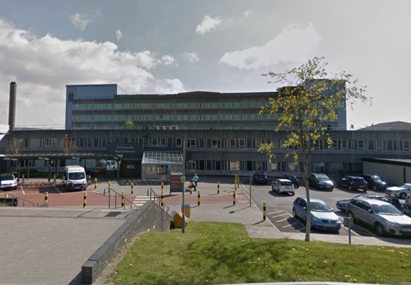 The Prince Charles Hospital in Merthyr Tydfil is unable to use its night-time heliport. (Google)