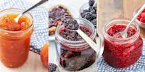 """<p>Homemade jam hits differently. That stuff really is delicious. Not to mention, versatile! Whether you're looking to level-up your <a href=""""https://www.delish.com/uk/cooking/recipes/g30688413/breakfast-recipes/"""" rel=""""nofollow noopener"""" target=""""_blank"""" data-ylk=""""slk:breakfasts"""" class=""""link rapid-noclick-resp"""">breakfasts</a>, or fancy making a special batch to gift to your family and friends, homemade jam is one of the best things to make from scratch. </p><p>It's a great way of using up any fruit you have lying around, and you can pretty much shove anything in (we're all about experimenting with new flavours). </p><p>So, if you feel like putting some time aside and making your very own jam (<a href=""""https://www.delish.com/uk/cooking/recipes/a32485084/strawberry-jam-recipe/"""" rel=""""nofollow noopener"""" target=""""_blank"""" data-ylk=""""slk:strawberry"""" class=""""link rapid-noclick-resp"""">strawberry</a>, <a href=""""https://www.delish.com/uk/cooking/recipes/a32943637/blueberry-jam-recipe/"""" rel=""""nofollow noopener"""" target=""""_blank"""" data-ylk=""""slk:blueberry"""" class=""""link rapid-noclick-resp"""">blueberry</a> or even <a href=""""https://www.delish.com/uk/cooking/recipes/a32943833/peach-jam-recipe/"""" rel=""""nofollow noopener"""" target=""""_blank"""" data-ylk=""""slk:peach"""" class=""""link rapid-noclick-resp"""">peach</a>) check out our some of our favourite jam recipes now. We just know you'll NEVER go back to shop-bought. </p>"""