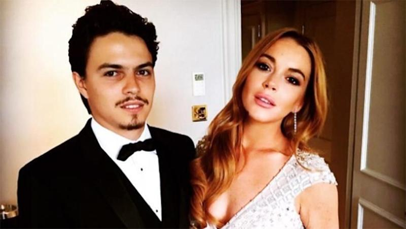 Egor Tarabasov and Lindsay Lohan. Source: Instagram
