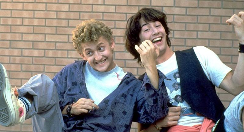 Here's Your First Look At The New Bill & Ted Movie