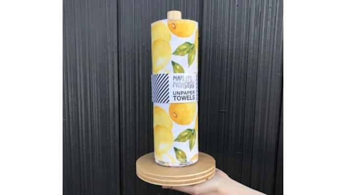 These are just like the single-use paper towels you use now, but reusable.
