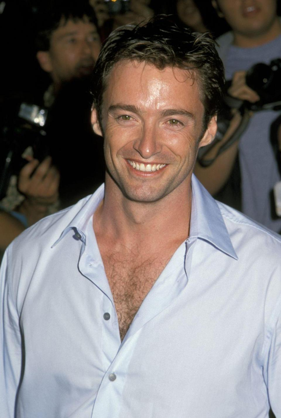<p>Did anyone ever doubt that Hugh Jackman—a.k.a Wolverine—was proud of his hairy chest? Nope. </p>