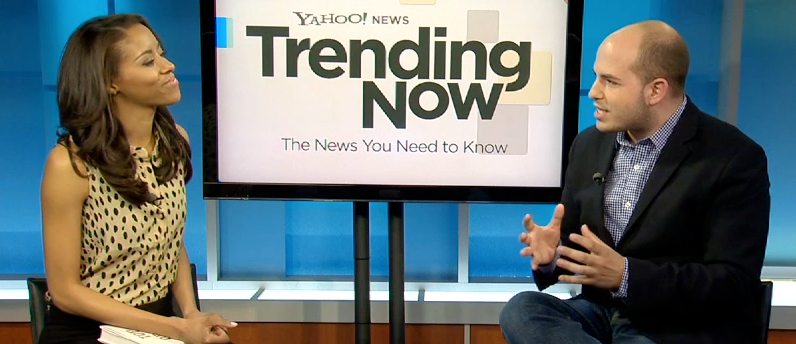 'Top of The Morning' Author Brian Stelter Talks Morning Show Wars and Future of Social Media