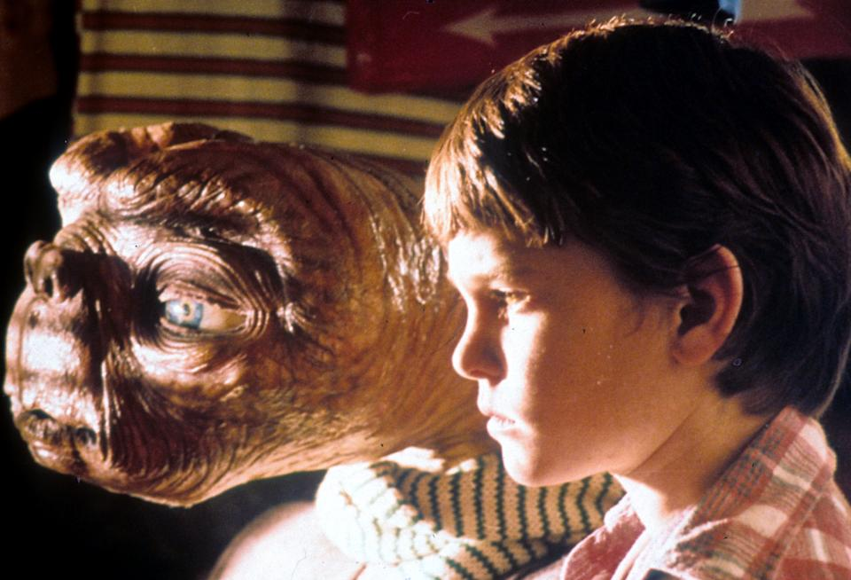 'E.T. The Extra-Terrestrial', 1982. (Universal/Getty Images)
