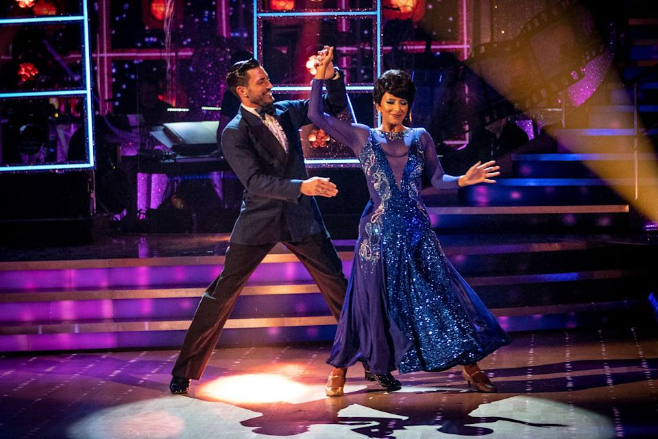Ranvir Singh is currently paired with Giovanni (Photo: BBC/Keiron McCarron)