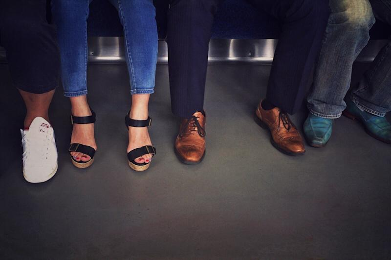 'Manspreading' banned on Madrid public transport