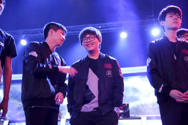 EDG's PawN will be looking to beat Faker once again (Riot Games/Lolesports)