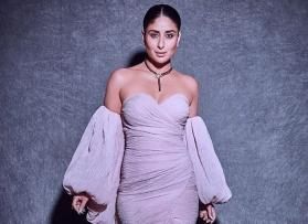 Kareena Kapoor Khan slays in a pastel lilac gown by Yousef Al Jasmi