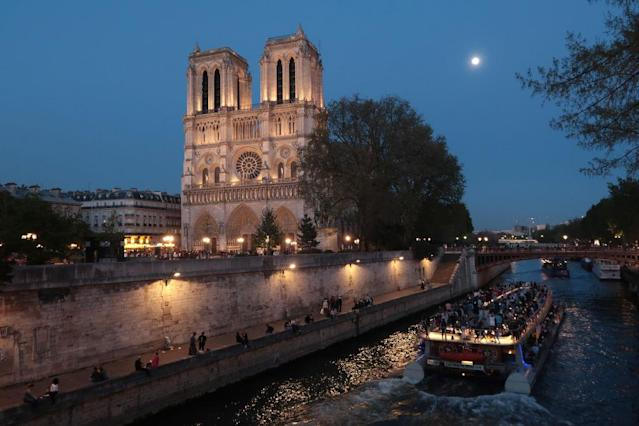 <p>No. 9: Notre Dame<br>Location: Paris, France<br>Tags: 2,517,129<br>(Photo by Sean Gallup/Getty Images) </p>
