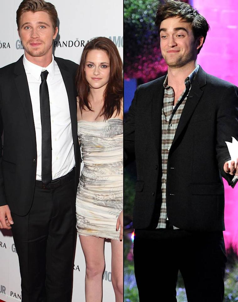 "<i>Star</i> reports that while Robert Pattinson has been ""partying like a single guy"" in Toronto, where he's shooting ""Cosmopolis,"" Kristen Stewart has been ""having a wild time"" all over with her ""On The Road"" co-star Garrett Hedlund. According to <i>Star</i>, Stewart ""wants word to get back to Rob to make him jealous."" For what's really going on between Stewart and Hedlund, and how Pattinson is handling it, click over to <a href=""http://www.gossipcop.com/kristen-stewart-garrett-hedlund-dating-robert-pattinson-jealous/"" target=""new"">Gossip Cop</a>. WireImage.com/FilmMagic.com"