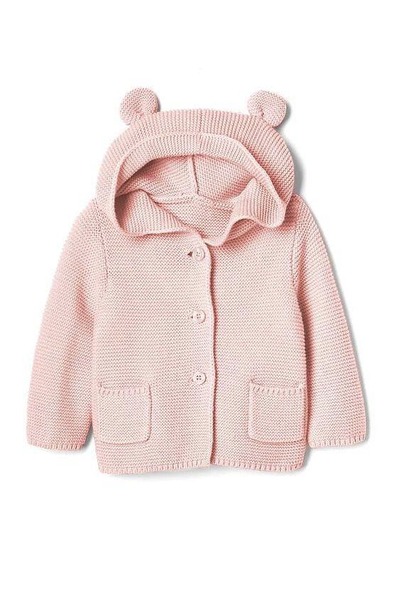 "<p><a rel=""nofollow"" href=""https://www.gap.com/products/baby-clothes.jsp"">SHOP NOW</a></p><p>You'll find everything you need at this iconic store, from basics to fashionable styles for special events. The pieces <strong>stand up to a ton of wear,</strong> so you don't have to worry about washing and re-wearing over and over again.</p><p><strong>Get the look:</strong> Bear Garter Hoodie Sweater  ($18, <a rel=""nofollow"" href=""https://www.gap.com/browse/product.do?cid=1009674&pcid=1028587&vid=1&pid=215587052"">gap.com</a>)</p>"