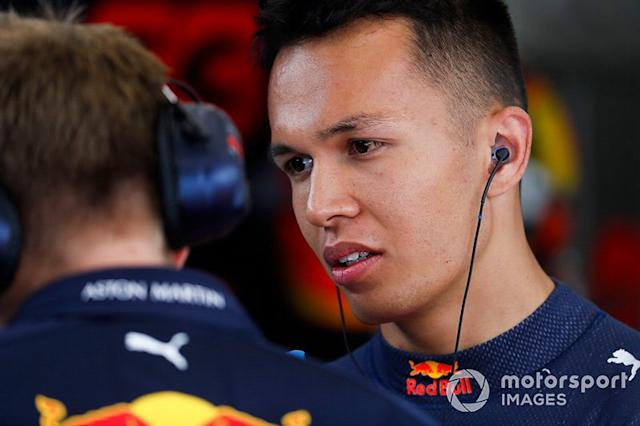 "Alex Albon, Red Bull <span class=""copyright"">Zak Mauger / LAT Images</span>"