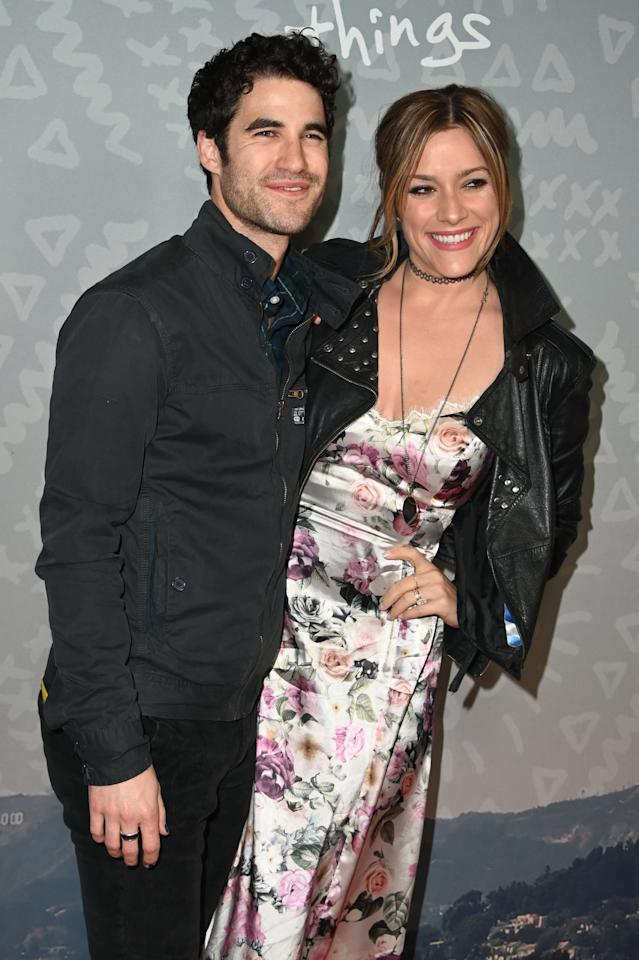 Darren Criss And His Wife Mia Swier Have Been Together Since Before Glee