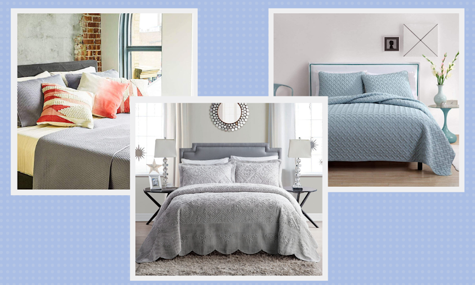 Save up to 75 percent off bedspreads, but only for today. (Photo: Amazon)