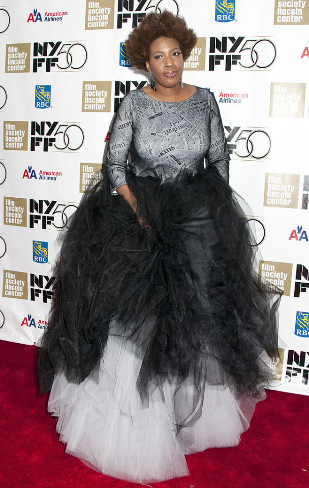 "Where has ""I Try"" songstress Macy Gray been in recent years? More importantly, can she please go back into hiding until she curbs her addiction to tulle? (10/3/2012)<br><br><a target=""_blank"" href=""http://omg.yahoo.com/blogs/jam/"">Jam: Spotlight on Music Stars</a>"