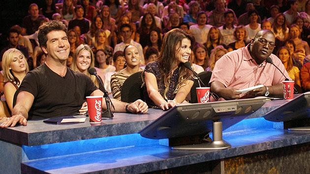 """American Idol: The Search For A Superstar"" - Simon Cowell, Paula Abdul, Randy ''The Emperor'' Jackson"