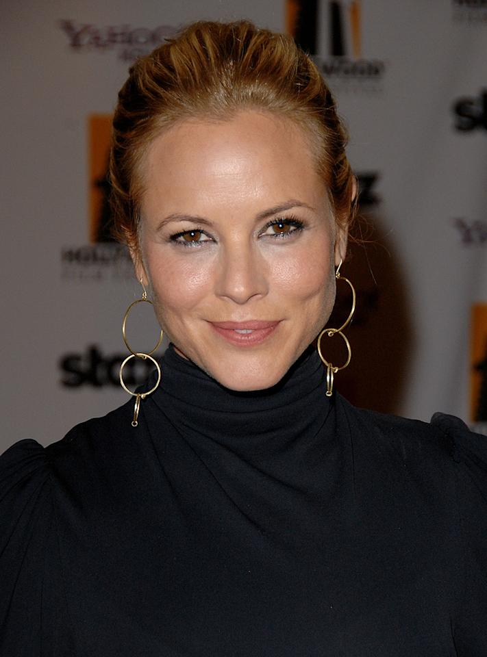 """<a href=""""http://movies.yahoo.com/movie/contributor/1800019251"""">Maria Bello</a> at the 12th Annual Hollywood Film Festival Awards Gala in Beverly Hills - 10/27/2008"""
