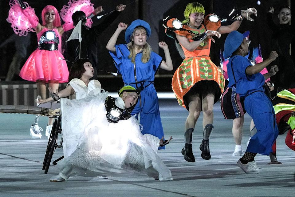 <p>Paralympic events in Tokyo will run through Sept. 5.</p>