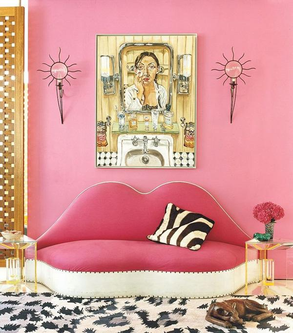 ad 12 (Adult) Ways to Decorate With the Color Pink