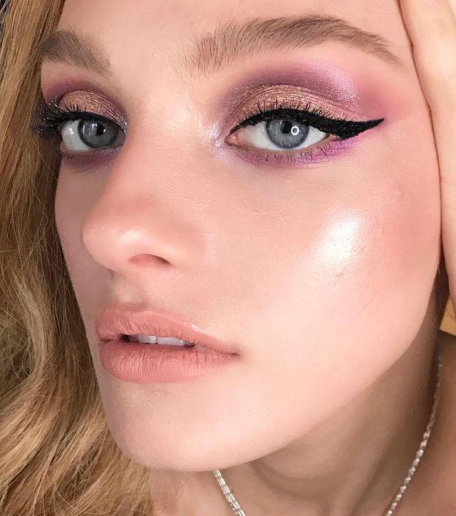 "<p>This rose pink and fuchsia eyeshadow combo is gorgeous, but it's that striking <a href=""https://www.goodhousekeeping.com/beauty/makeup/how-to/g3490/winged-eyeliner-for-every-eye-shape/"" rel=""nofollow noopener"" target=""_blank"" data-ylk=""slk:winged eyeliner"" class=""link rapid-noclick-resp"">winged eyeliner </a>that's going to steal the show. </p><p><strong>RELATED:</strong> <a href=""https://www.goodhousekeeping.com/beauty-products/eyeliner-reviews/g5013/best-eyeliner-reviews/"" rel=""nofollow noopener"" target=""_blank"" data-ylk=""slk:12 Best Luxury and Drugstore Eyeliners"" class=""link rapid-noclick-resp"">12 Best Luxury and Drugstore Eyeliners</a></p><p><a href=""https://www.instagram.com/p/BgL7UUOn9iU/&hidecaption=true"" rel=""nofollow noopener"" target=""_blank"" data-ylk=""slk:See the original post on Instagram"" class=""link rapid-noclick-resp"">See the original post on Instagram</a></p>"