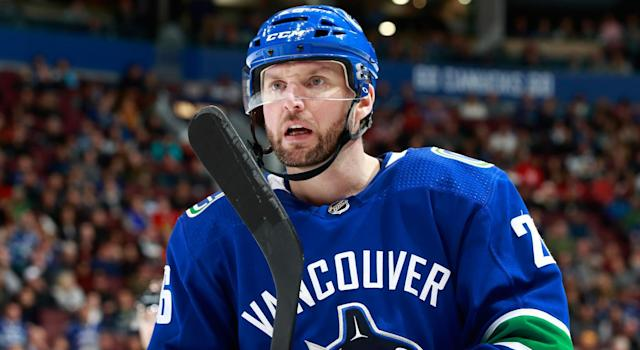 """The <a class=""""link rapid-noclick-resp"""" href=""""/nhl/teams/van/"""" data-ylk=""""slk:Vancouver Canucks"""">Vancouver Canucks</a> seemed to be on the right track – but are they abandoning that direction? (Photo by Jeff Vinnick/NHLI via Getty Images)"""