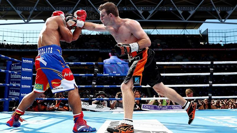 A Pacquiao rematch could be on the cards for Horn in 2018. Pic: Getty