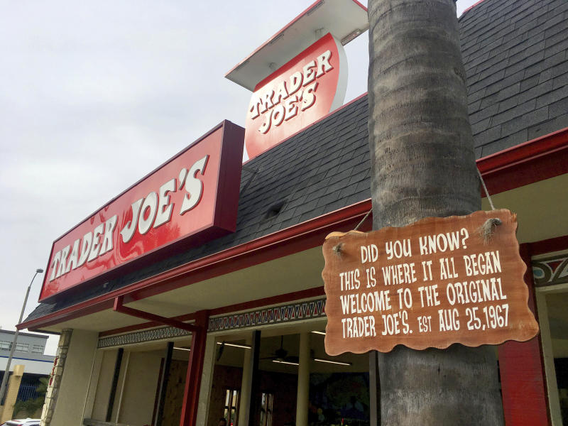 The original Trader Joe's grocery store, in Pasadena, Calif.