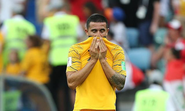 Socceroos striker Tim Cahill called time on international career after the World Cup.