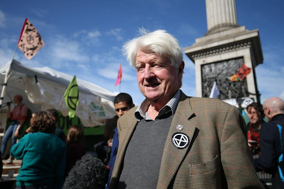 Stanley Johnson, father of Prime Minister Boris Johnson (PA)