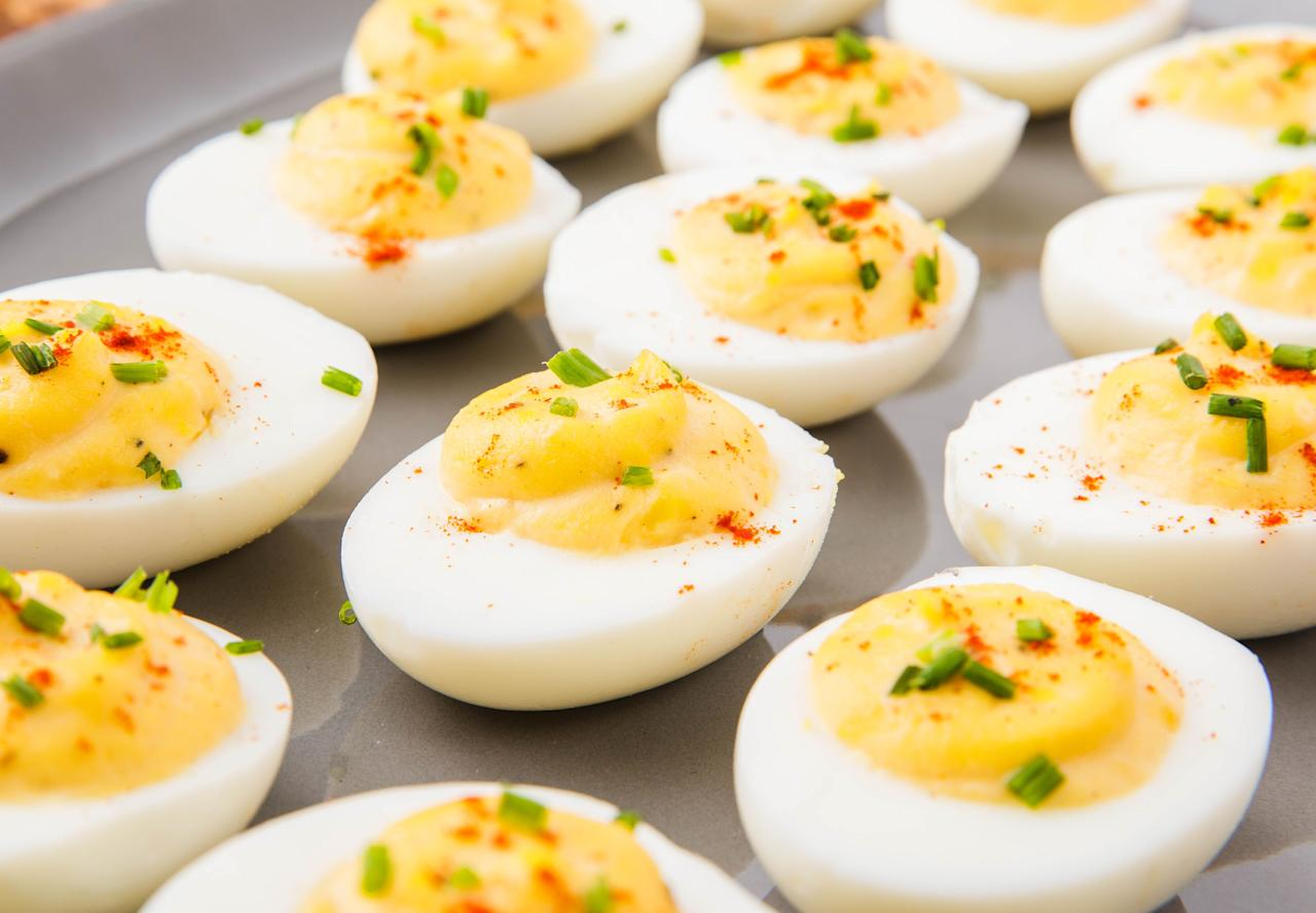 """<p>Winter ending is the best excuse to throw a party. Once it's even slightly warm, we're bringing out the deviled eggs, avocado fries, and asparagus bundles. The hardest part is deciding which to make first. For more spring meal inspo, check out out favorite <a href=""""http://www.delish.com/cooking/g1580/sensational-spring-soups/"""" target=""""_blank"""">spring soups</a>!</p>"""