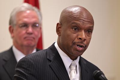 Missouri DPS Director Dan Isom has the authority to discipline the state's licensed police officers. (AP/Post-Dispatch)