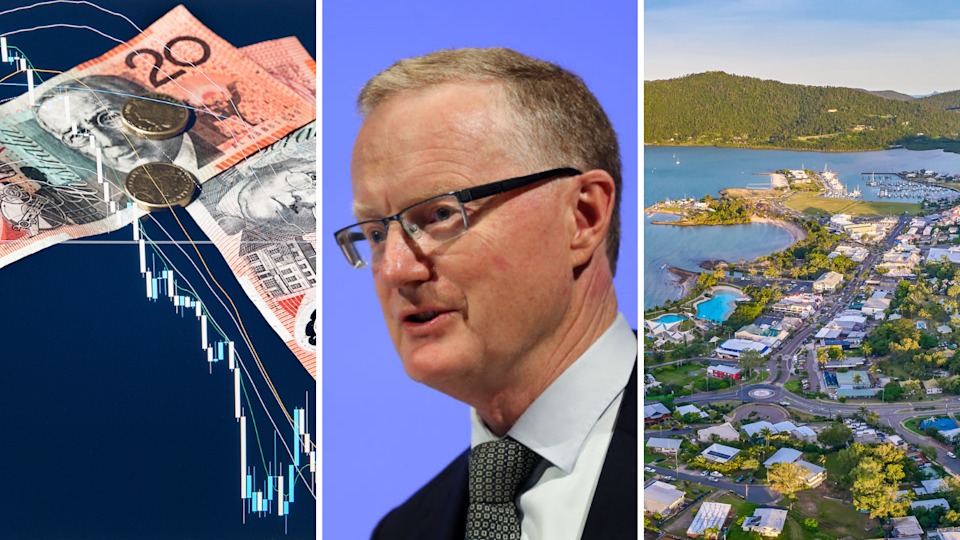 The Reserve Bank Governor Philip Lowe has handed down the cash rate decision. Images: Getty.