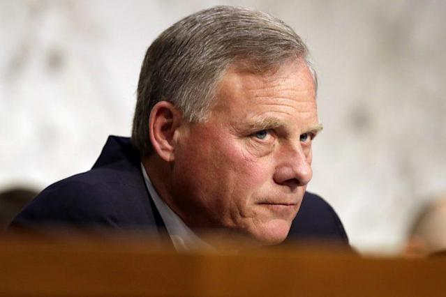 Senate Intelligence Committee Chairman Sen. Richard Burr, R-N.C. at a hearing on Capitol Hill last month. (Photo: Jacquelyn Martin/AP)