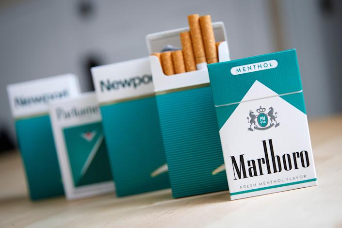 & Lt; p & gt; The United States is poised to ban menthol tobacco & lt; / p & gt; (Photograph by Drew Angeler / Getty Images)