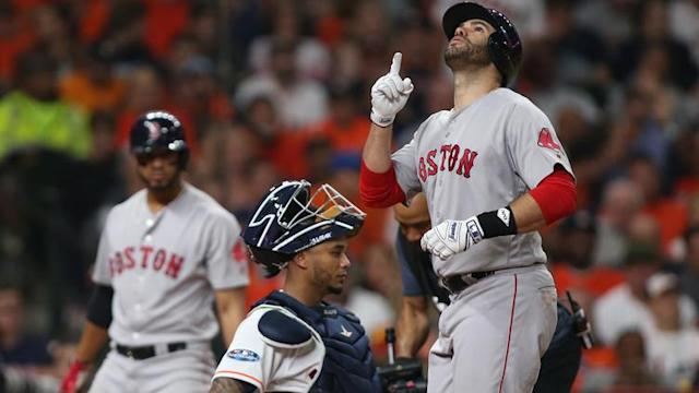 The Red Sox had the best record in baseball last season, but the sportsbooks don't see them repeating that feat.