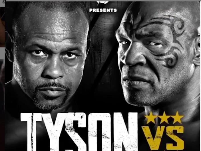 Mike Tyson will take on Roy Jones Jr in an exhibition fight (MikeTyson)