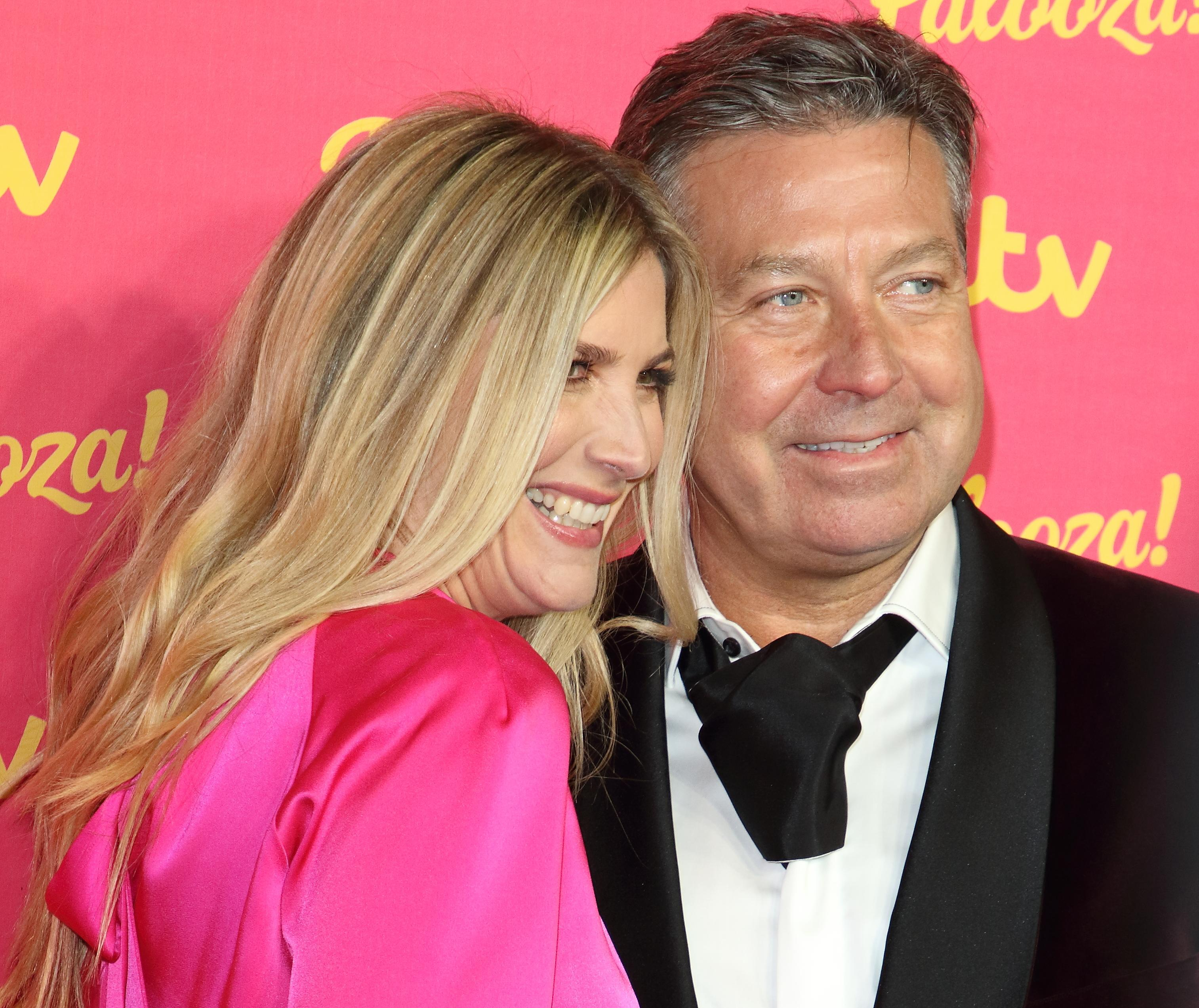 Lisa Faulkner and John Torode at the ITV Palooza at the Royal Festival Hall, South Bank (Photo by Keith Mayhew / SOPA Images/Sipa USA)