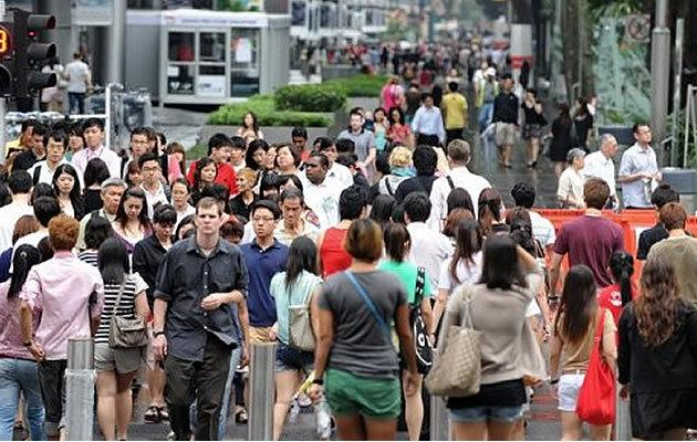 Singapore's population will swell to 6 million by 2020. (AFP file photo)