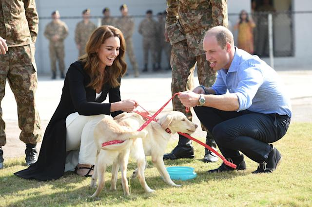 The Duke And Duchess Of Cambridge Visit Islamabad And West Pakistan on October, 18 2019.