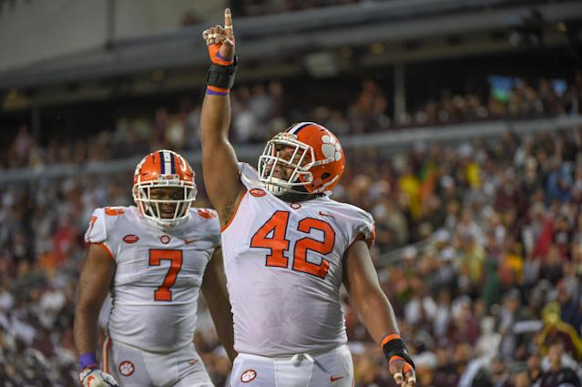 Clemson moved to 2-0 after beating Texas A&M. (Getty)