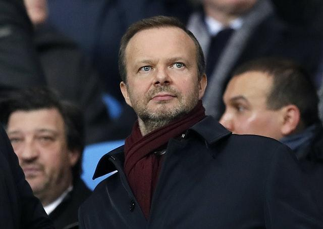 Manchester United executive vice-chairman Ed Woodward has publicly backed Ole Gunnar Solskjaer