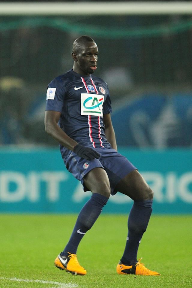 File photo dated 27/02/2013 of Paris Saint-Germain's Mamadou Sakho.