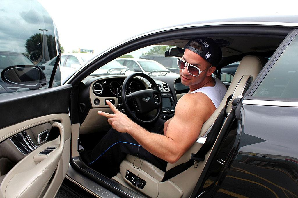 """Jersey Shore"" star Mike ""The Situation"" Sorrentino, who left rehab last month for a prescription drug abuse problem, is back doing his thing. The 29-year-old spent Monday keeping up his appearance, as he went for a workout and a haircut in New Jersey. (5/14/2012)"