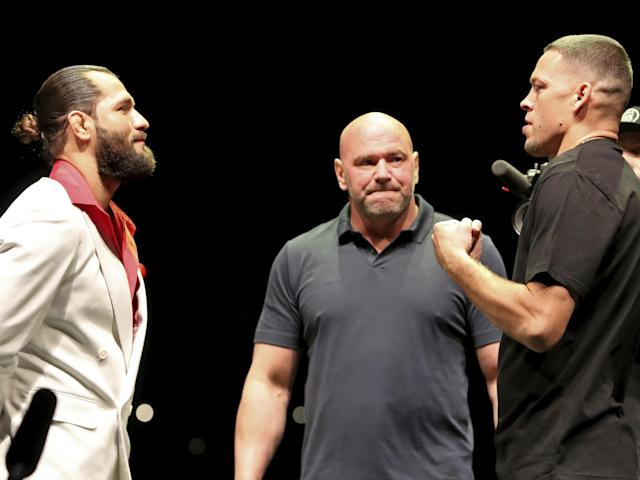 Masvidal and Diaz come together: AP