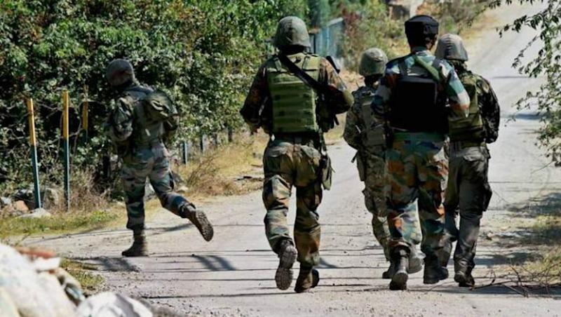 Jammu And Kashmir: Two Terrorists Neutralised by Security Forces in Encounter in Pulwama's Dadoora Area