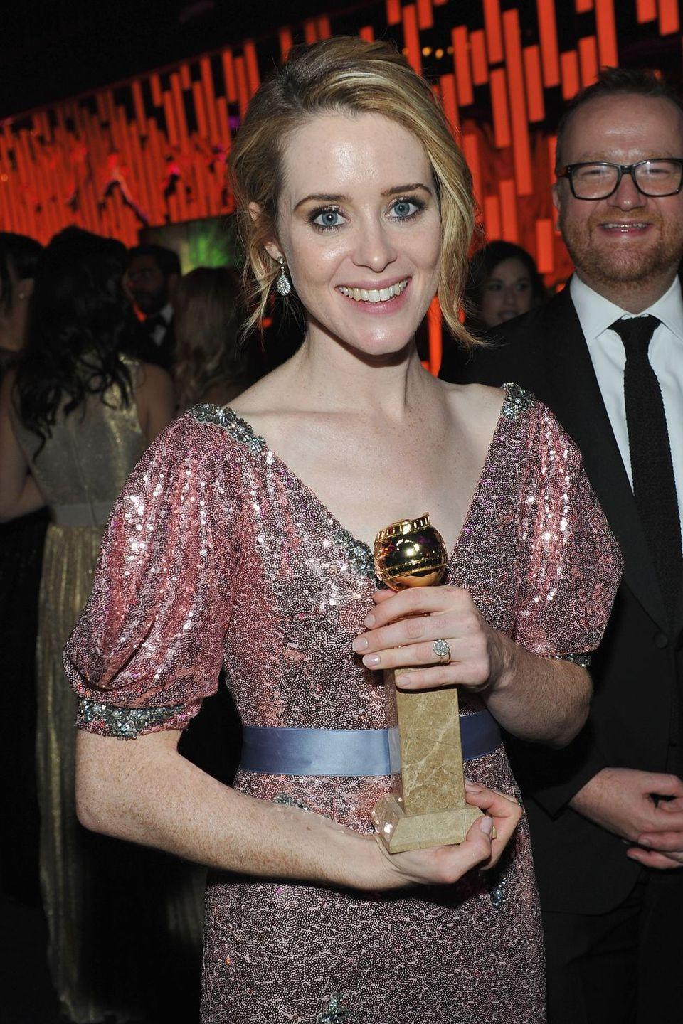 """<p>""""I tried to cast almost everyone in Britain before Claire Foy,"""" <em>The Crown</em> creator, Peter Morgan, told <em><a href=""""http://variety.com/2016/tv/news/the-crown-netflix-royal-series-peter-morgan-claire-foy-1201907444/"""" rel=""""nofollow noopener"""" target=""""_blank"""" data-ylk=""""slk:Variety"""" class=""""link rapid-noclick-resp"""">Variety</a></em>. """"It was weird. Every time I went to a read through where we were doing auditions for 'The Queen,' I was interested in actress A or B I would skip the bit where Claire was in there. And then after about the fourth time, I went, 'This one is sensational, who's this?' And they said, 'Pete, she's been in four times. And you've gone for a better-known actress.' She very queen-like[,] slipped in and has proven to be very queen-like. Brilliantly effective.""""</p>"""