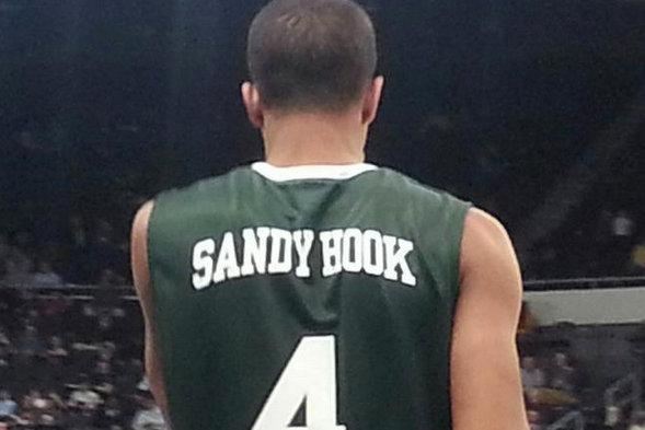 a528116f9941 Providence honors shooting victims with special  Sandy Hook  jerseys