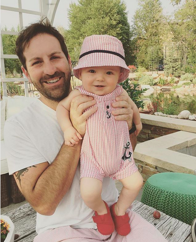 "<p>The actress tagged her singer-hubby, Josh Kelley, in this adorable shot in which he held up his matching 8-month-old son, Josh Jr. ""<a href=""https://www.instagram.com/joshbkelley/"" rel=""nofollow noopener"" target=""_blank"" data-ylk=""slk:@joshbkelley"" class=""link rapid-noclick-resp"">@joshbkelley</a> and his namesake rocking their seersucker cause it's a seersucker kind of summer! How I love these cute boys!"" (Photo: <a href=""https://www.instagram.com/p/BXWg--aDlc5/?taken-by=katherineheigl"" rel=""nofollow noopener"" target=""_blank"" data-ylk=""slk:Katherine Heigl via Instagram"" class=""link rapid-noclick-resp"">Katherine Heigl via Instagram</a>) </p>"