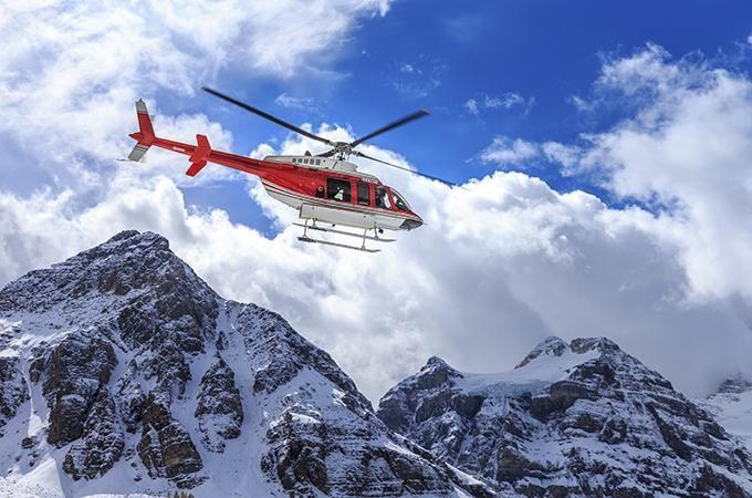 Learn to fly a chopper. Photo: iStock