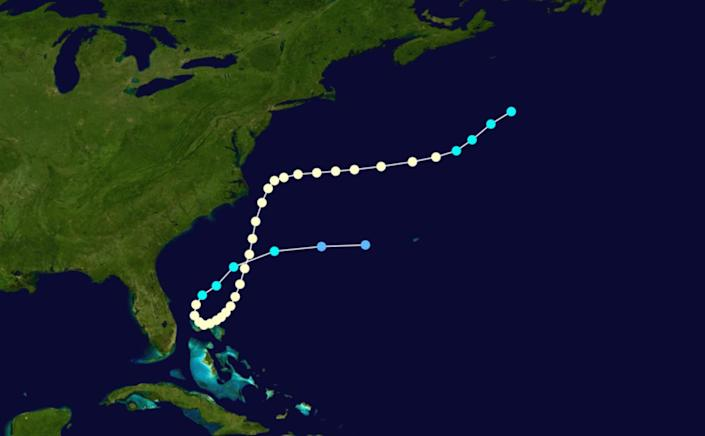 Hurricane Able received interesting nicknames because it popped up in May